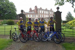 Alford wheelers Gunby Hall